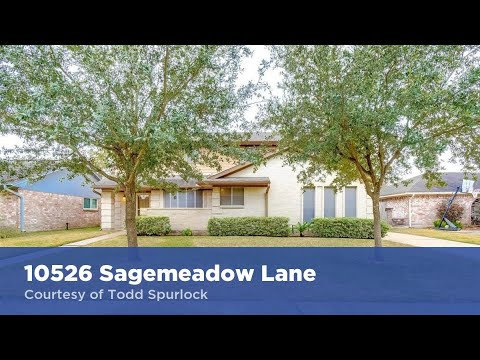 10526 Sagemeadow Lane Houston Texas 77089 Todd Spurlock Homes For Sale