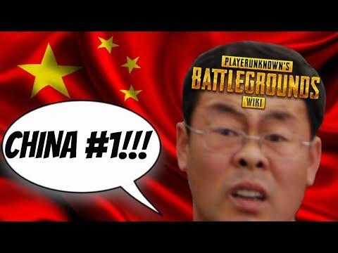 CHINA NUMBA WAN!!! - PUBG FUNNY MOMENTS