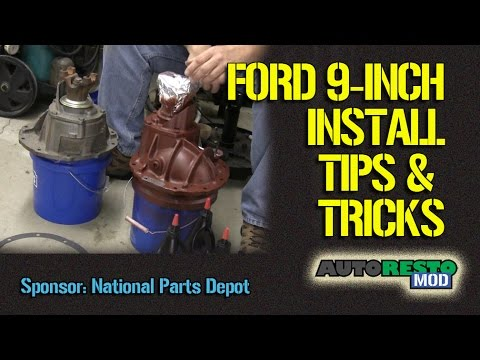 Tips and Tricks on How To Install a Ford 9 Inch Center Chunk Carrier Episode 247 Autorestomod
