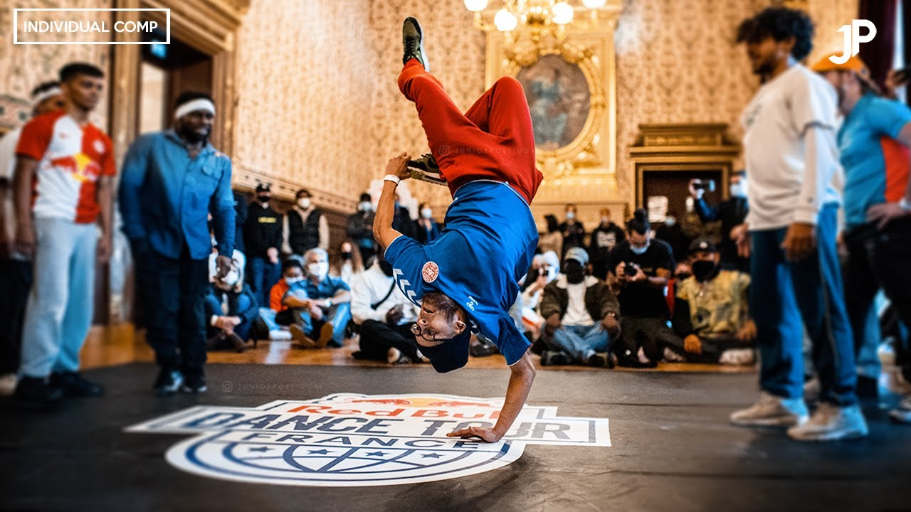 Lilou at Red Bull Dance Tour France 2020