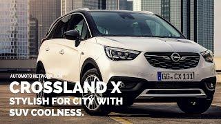 2017 Opel Crossland X | Testdrive & Interior Design.