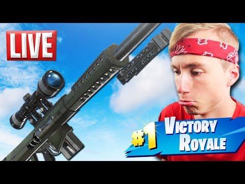 KOMT DE HEAVY SNIPER VANDAAG? - (Fortnite: Battle Royale Nederlands Live)