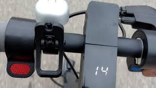 LIDL escooter doc Green Steigungstest(2)