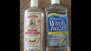 REVIEW! Witch Hazel Astringent