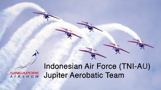 Download Singapore Airshow 2018 - Indonesian Air Force (TNI) Jupiter Aerobatic Team