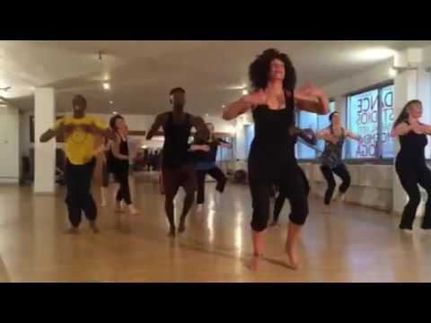 African Beginners Dance Class with Rubba featuring Special Guest Tutor Aisha Dennis