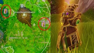 FORTNITE BUG of 2 INFINITO GUANTELETES in a PARTIDA!!