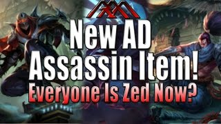 New AD Assassin Item - Everyone Is ZED - League of Legends