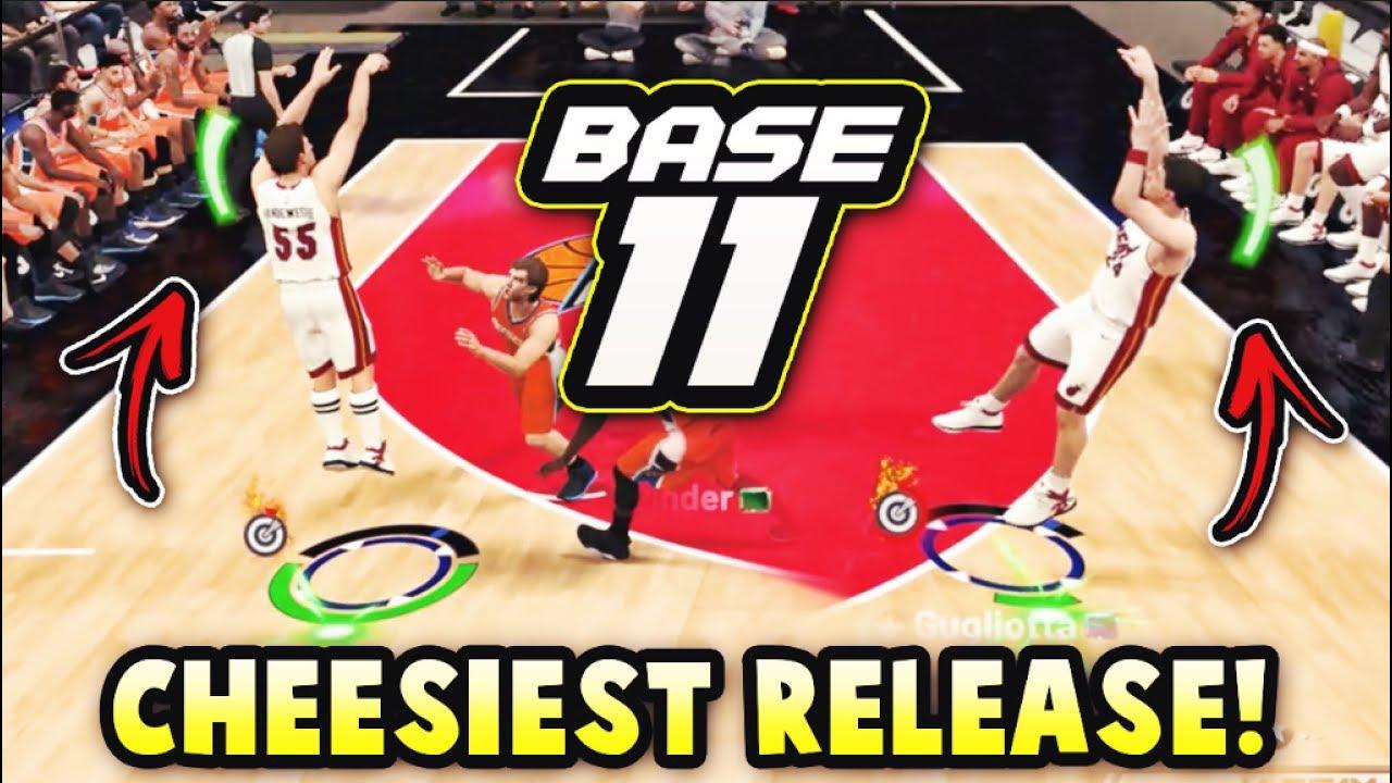 THE CHEESIEST RELEASE IN NBA 2K19 MyTEAM!! *BASE 11* | NBA 2K19 MyTEAM BEST  RELEASE SQUAD GAMEPLAY!!