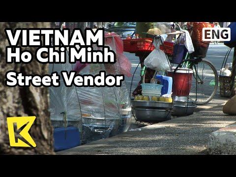 【K】Vietnam Travel-Ho Chi Minh[베트남 여행-호치민]노점상 아침 식사/Street Vendor/Spring Roll/Noodle