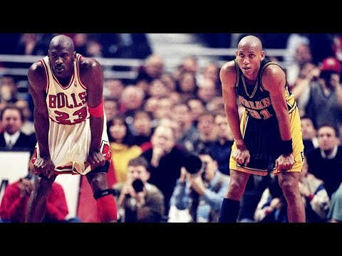 '98 Playoffs Bulls vs Pacers - Final 1:35 of Game 4 | Miller Time