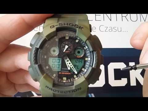 Recenzja Casio G-Shock GA-100MM - opis funkcji i działanie zegarka by Matej