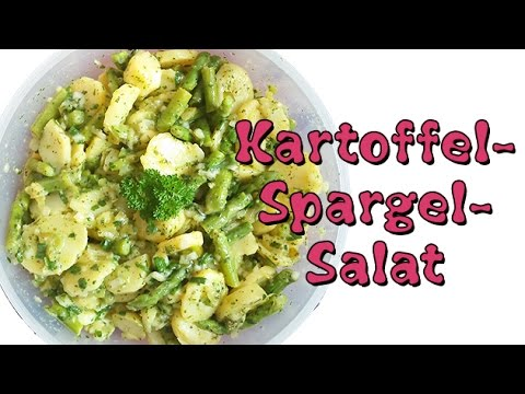 rezept veganer kartoffel spargel salat perfekt zum grillen youtube. Black Bedroom Furniture Sets. Home Design Ideas