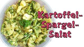 REZEPT Veganer Kartoffel-Spargel-Salat   Perfekt zum Grillen