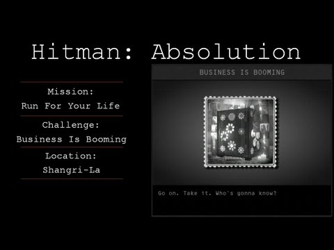 Hitman: Absolution Challenge Guide - Business Is Booming - Mission 4
