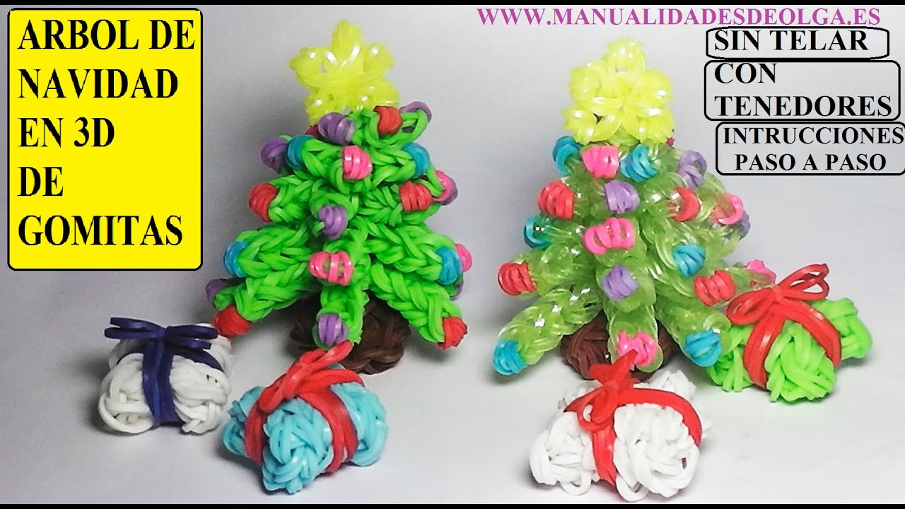 Manualidades navide as como hacer un arbol de navidad 3d - Como hacer cosas de navidad ...