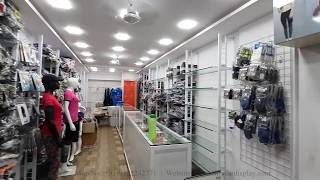 Garment Shop with Counter and Drawer- Manufacturer