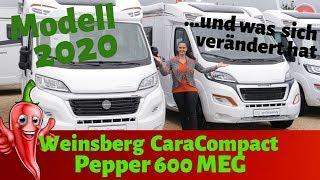 *Weinsberg Pepper 600 MEG 2020* - NEU-Wohnmobilvorstellung VLOG#46