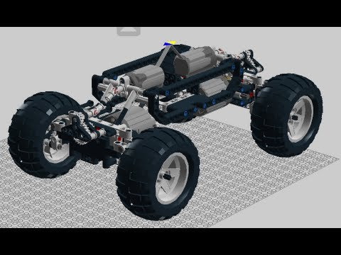 Lego Rock Crawler Instructions Youtube