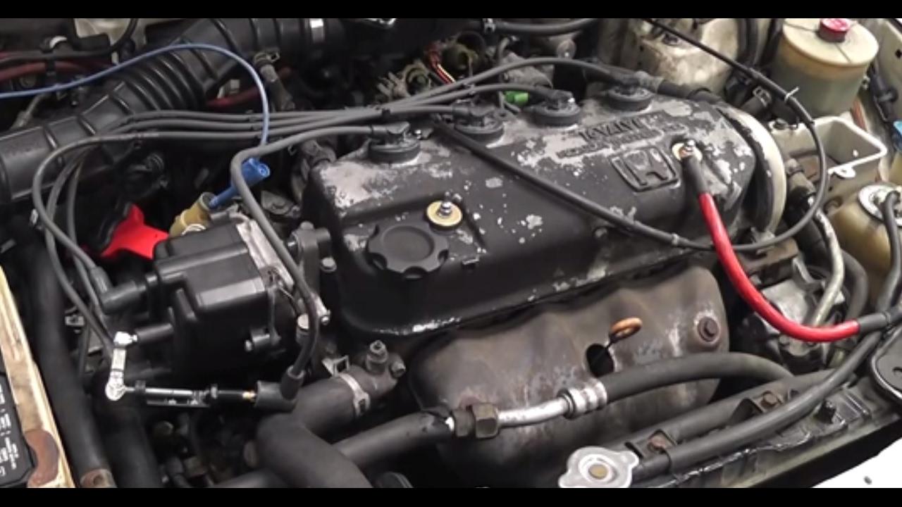 Honda Civic Misfire Stall Hard Start Weak Spark Bad Igniter