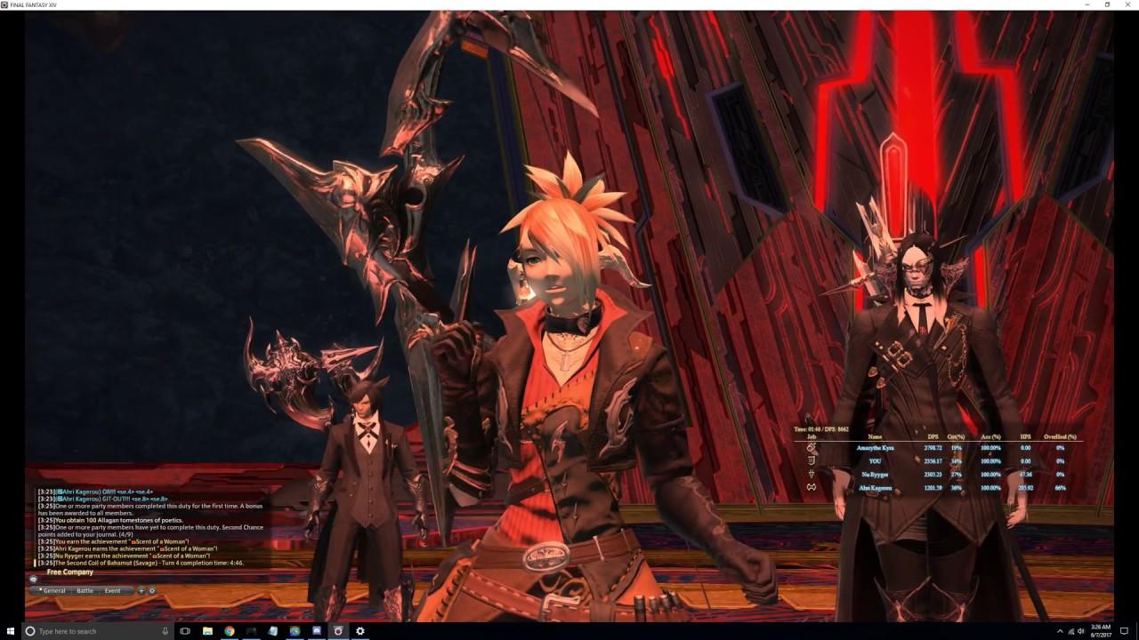Final Fantasy XIV - T9S Spin Strat