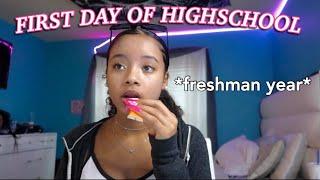 GRWM: FIRST DAY OF HIGH SCHOOL ✩ 9th grade ✩   AYEitsMaya •