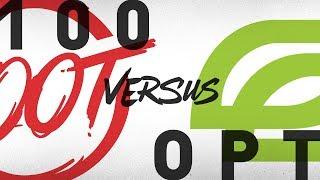 100 vs. OPT - Week 9 Day 2   NA LCS Summer Split   100 Thieves vs. OpTic Gaming (2018)