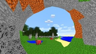 No Cubes Mod VS Photorealistische Maps
