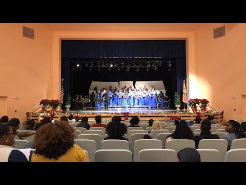 2017 Langston University Holiday Concert featuring the LU Concert Choir