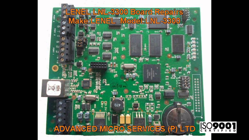 lenel lnl 3300 board repairs advanced micro services pvt ltd rh youtube com Lenel Board 2000 Lenel 3300 Controller