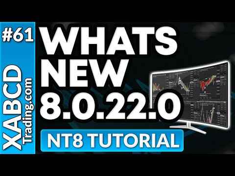 Whats New in NinjaTrader 8.0.22.0