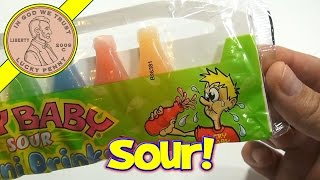 Cry Baby Sour Candy Wax Bottles - Unique & Oddball Candy