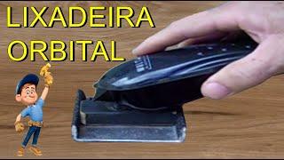 LIXADEIRA ORBITAL CASEIRA FAZER FACIL APARADOR, MAQUINA CORTAR CABELO, LIJADO, LIJADORA, FERRAMENTAS
