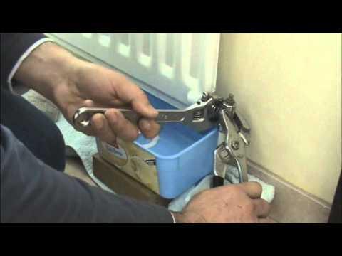 Removing Radiator For Decorating