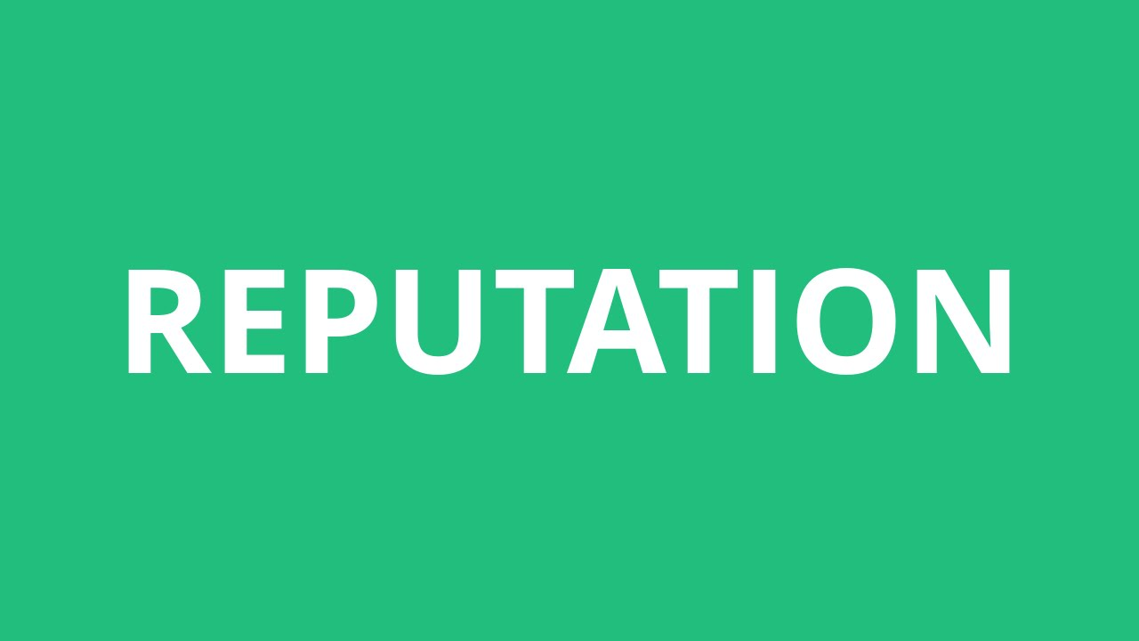 How To Pronounce Reputation - Pronunciation Academy