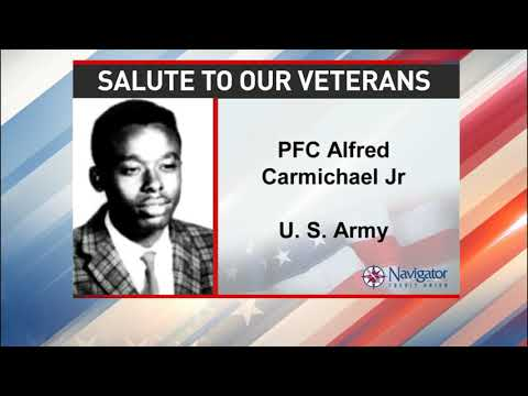 Salute to our veterans: First Class Alfred Carmichael Jr. - NBC 15 WPMI