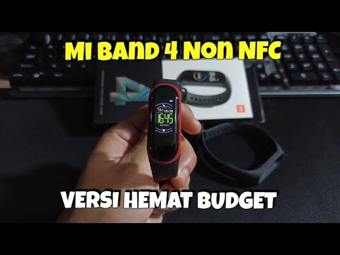 Unboxing Xiaomi Mi Smart Band 4 Non NFC Version