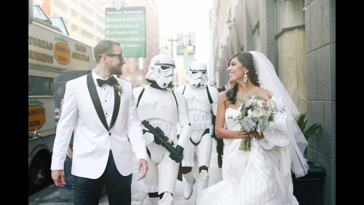 My Star Wars-Inspired Wedding! - YouTube