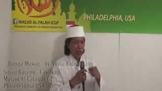 Emha Ainun Nadjib di Philadelphia bagian 5