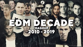 EDM DECADE MASHUP - Best 100 Songs of 2010-2019 | by daveepa & Fuerte