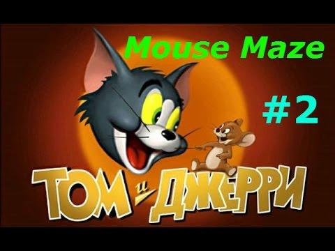 Том и Джерри - #2 Первый этаж А. Игровое видео для детей по мультику.