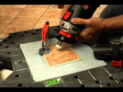 Cutting Tile With Rotozip Rz2000 And Xcores