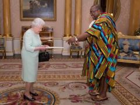 HE Victor Smith, Ghana High Commissioner to UK presentation of Credentials at Buckingham Palace