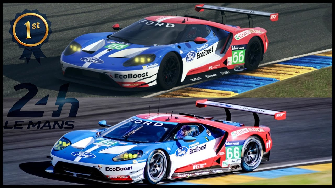The Winner Of Le Mans  Hours Ford Gt Lm Track Build Tune Forza