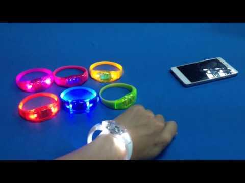 Event Supplies Party Supplies LED Bracelets Wholesale Music Festival Solutions