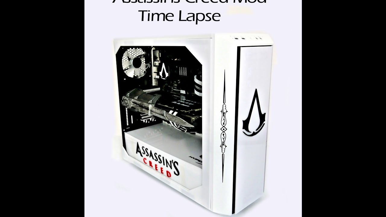Assassins Creed PC Case Mod Time Lapse - YouTube