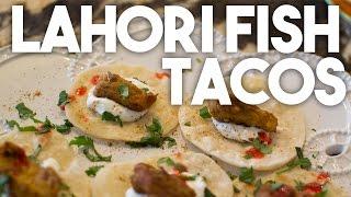 Lahori Fish Tacos - Party Appetizers - Karen Ahmed