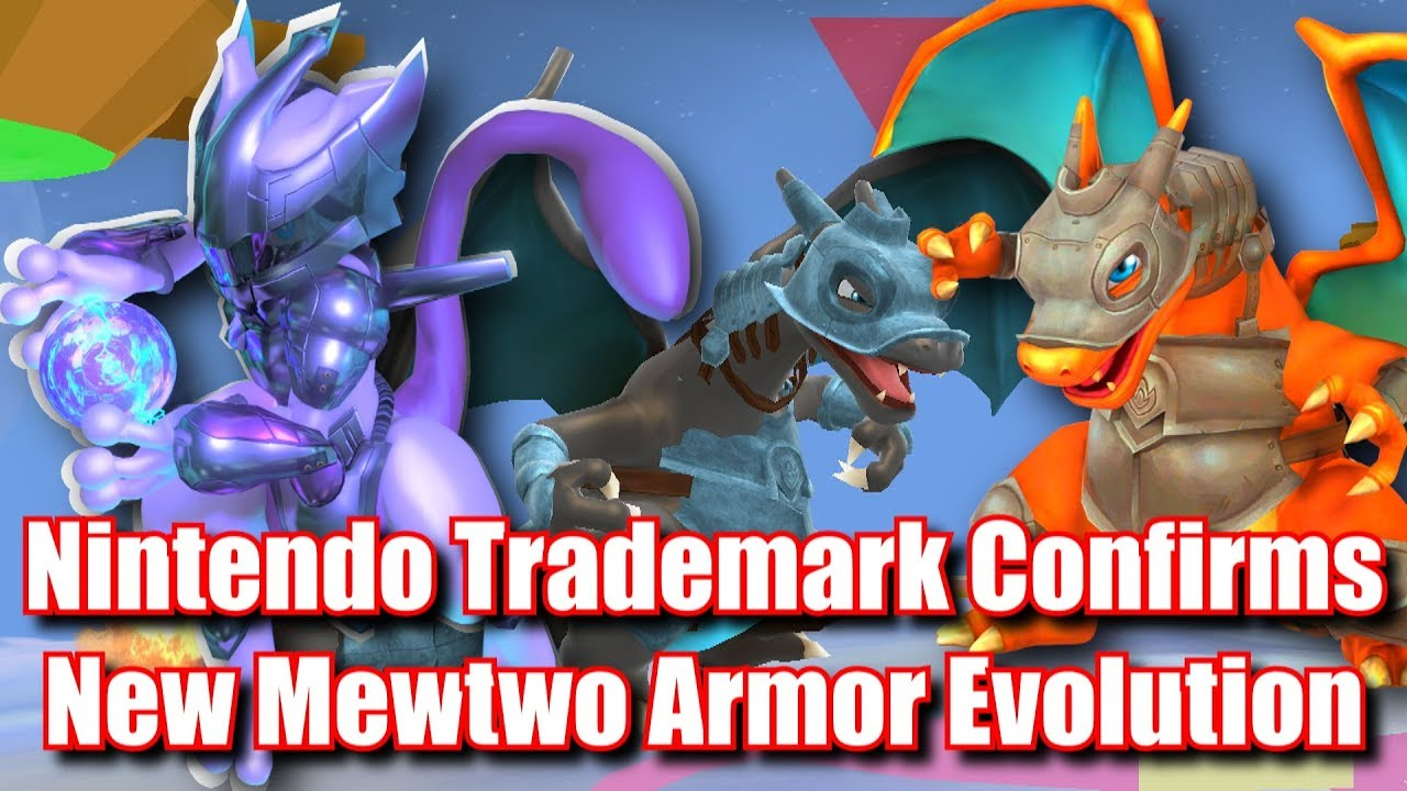 Armor Mewtwo New Armor Evolutions Confirmed Pokemon Sword Shield