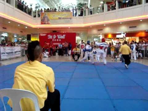 Warren Villanueva, SMA, COSAA 2010 Taekwondo