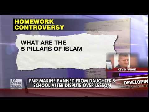 Assignment Promoting Islam Gets Marine Banned From Daughter's School